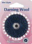 H1003.NY Darning Wool: 20m - Navy